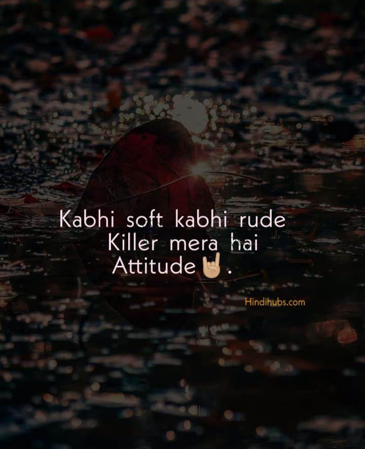 Top Best Attitude Status for Boys for Whatsapp